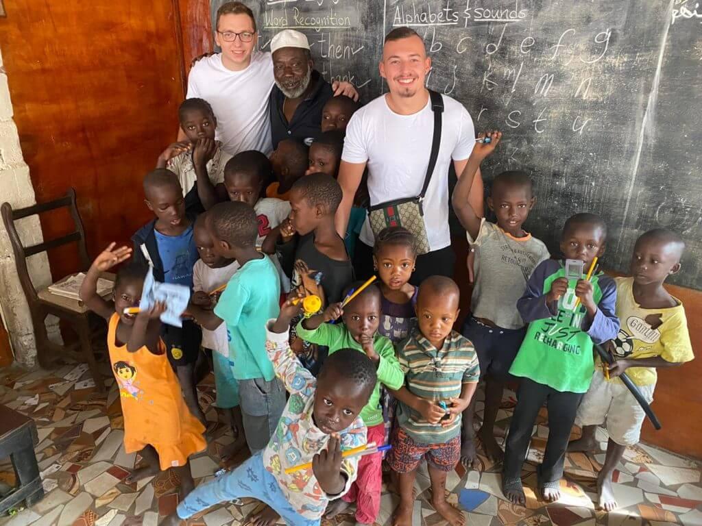 Entwicklungshilfe Gambia